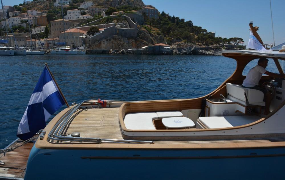Boat rental Hydra cheap Lobster 38