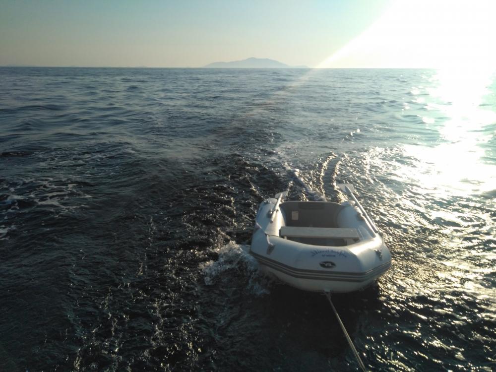 Boat rental Lipari cheap comet 375 cl