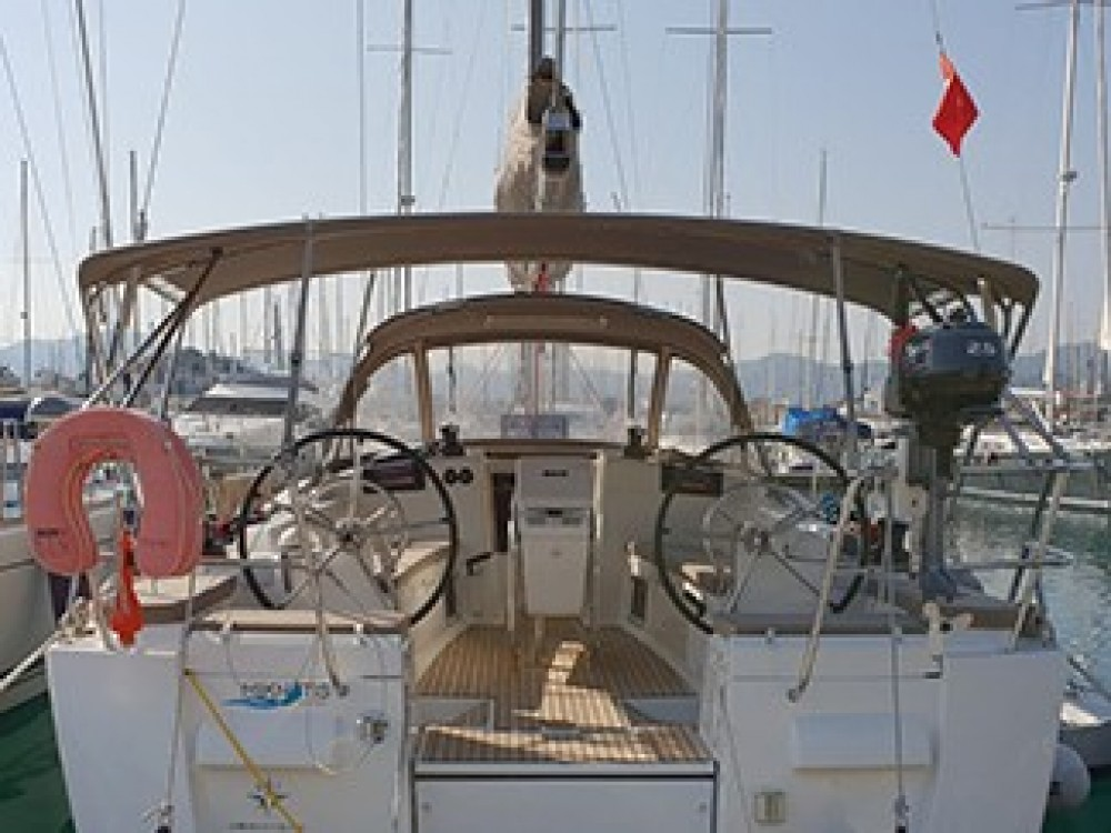 Jeanneau Sun Odyssey 409 between personal and professional Marmaris