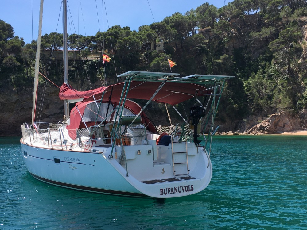 Hire Sailboat with or without skipper Bénéteau Palamós