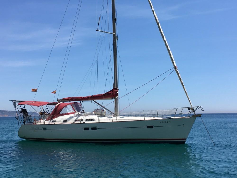 Rental yacht Palamós - Bénéteau Oceanis Clipper 423 on SamBoat