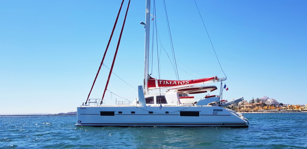 Catana Catana 50 between personal and professional Hyères