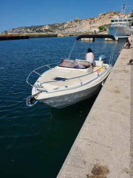 Rental Motorboat Eolo with a permit