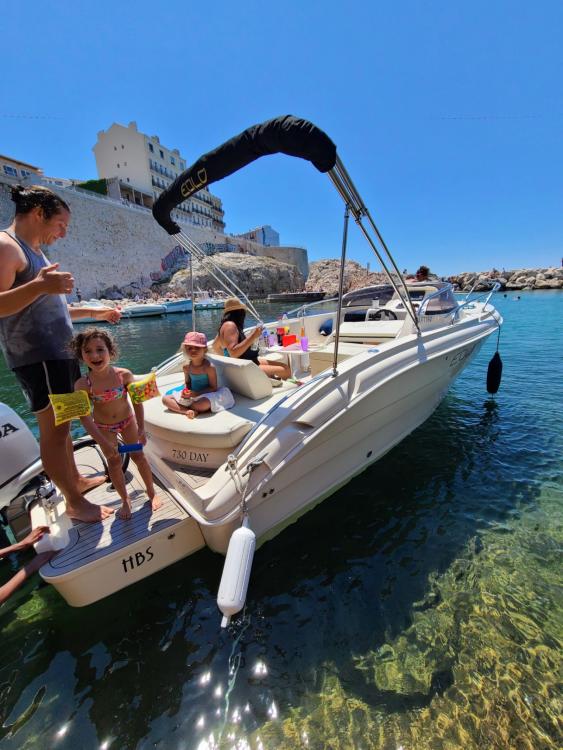 Rental Motorboat in Marseille - Eolo 730 Day