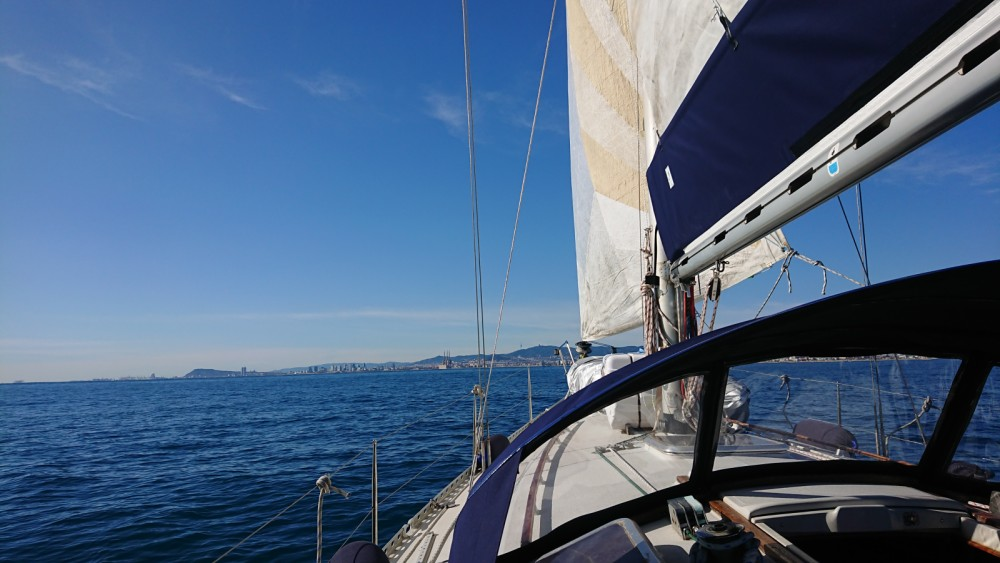 Hire Sailboat with or without skipper North Wind el Masnou