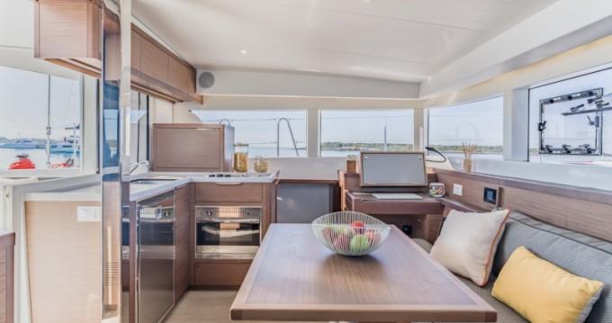 Boat rental Limassol cheap Lagoon 40
