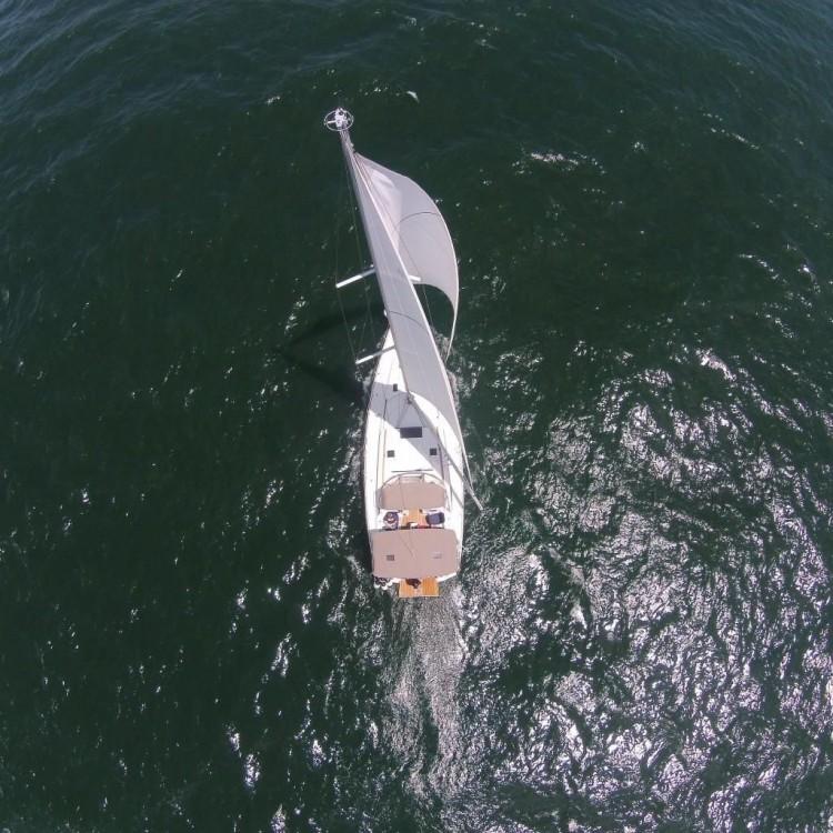 Boat rental Lefkada cheap Sun Odyssey 509