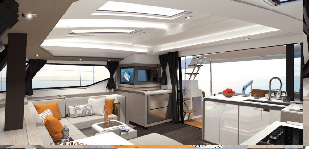 Rental yacht US Virgin Islands - Fountaine Pajot Elba 45 on SamBoat