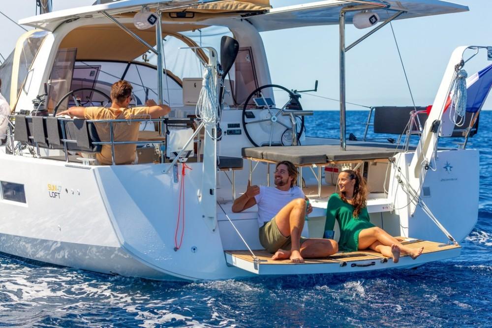 Boat rental Trogir cheap Sun Loft 47