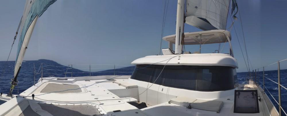 Rental Catamaran Sunreef with a permit