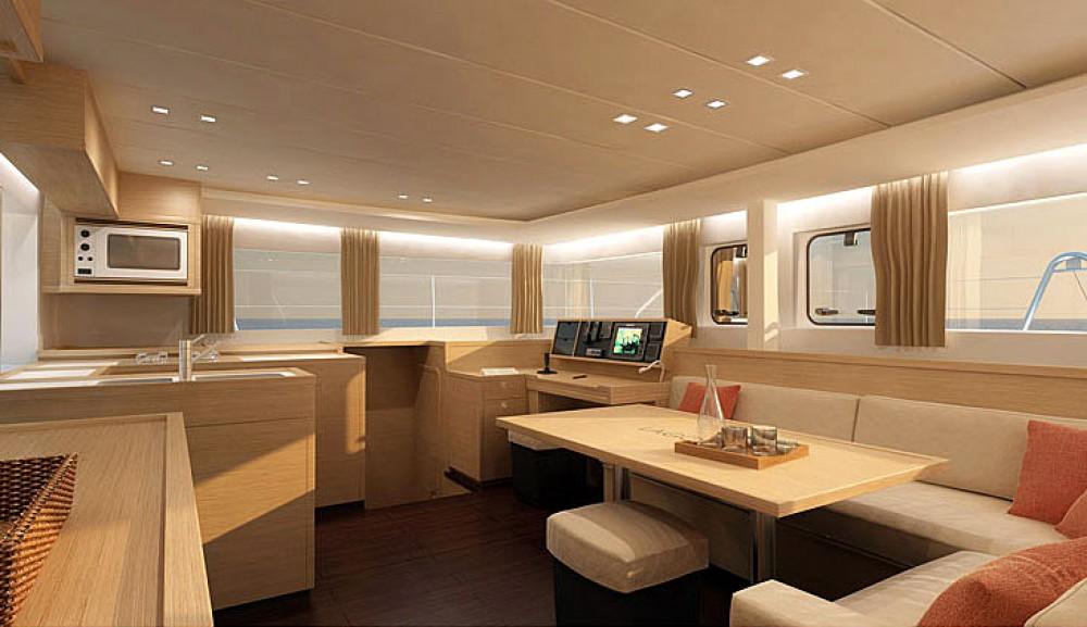 Rent a Lagoon Catamaran Lagoon 450 F Trogir