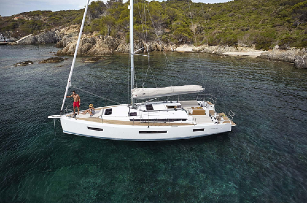 Boat rental Trogir cheap Sun Odyssey 440