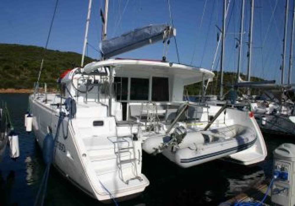 Boat rental Dubrovnik cheap Lagoon 400