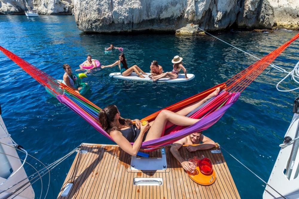 Rental Sailboat in Trogir - Jeanneau Sun Loft 47