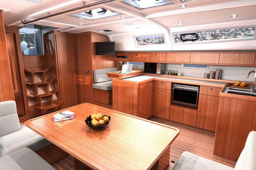 Bavaria 51 Cruiser between personal and professional Trogir