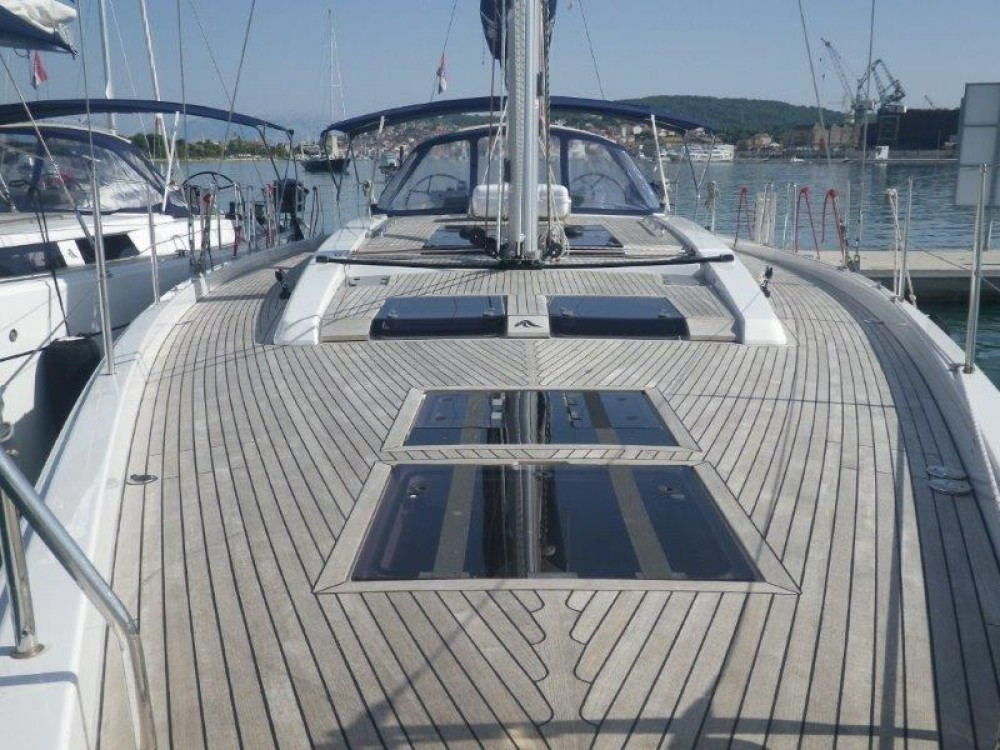 Boat rental Dubrovnik cheap Hanse 575