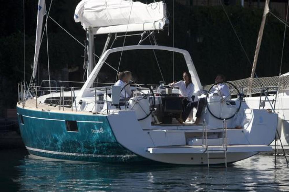 Rental Sailboat in Traù - Bénéteau Oceanis 48