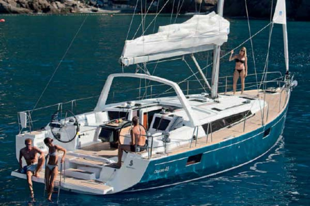 Rental yacht Traù - Bénéteau Oceanis 48 on SamBoat