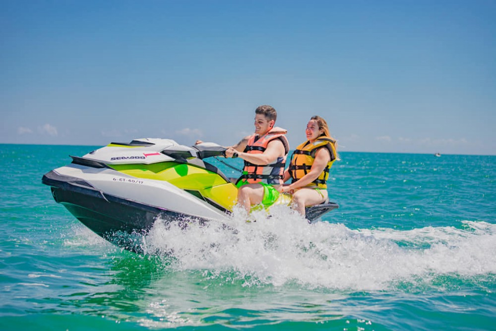Seadoo GTI  between personal and professional Cullera