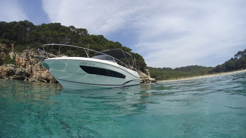 Motorboat for rent Ciutadella at the best price