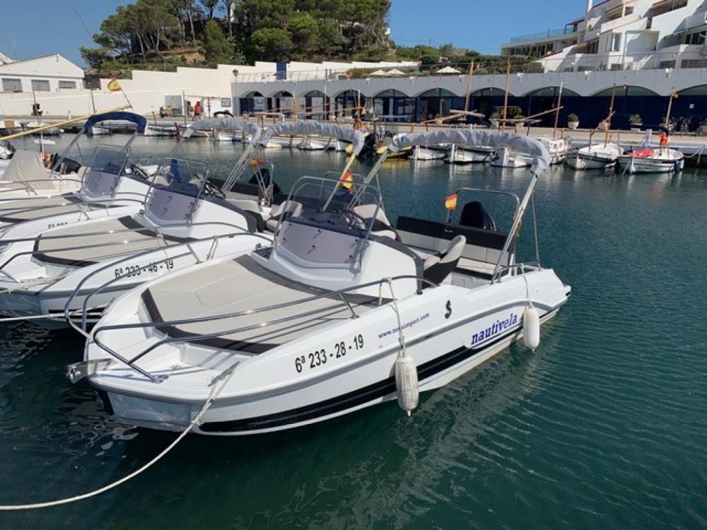 Rental Motorboat in Palamós - Bénéteau Flyer 5.5 SUNdeck