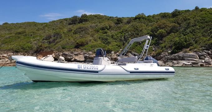 Rental RIB Motonautica-Vesuviana with a permit