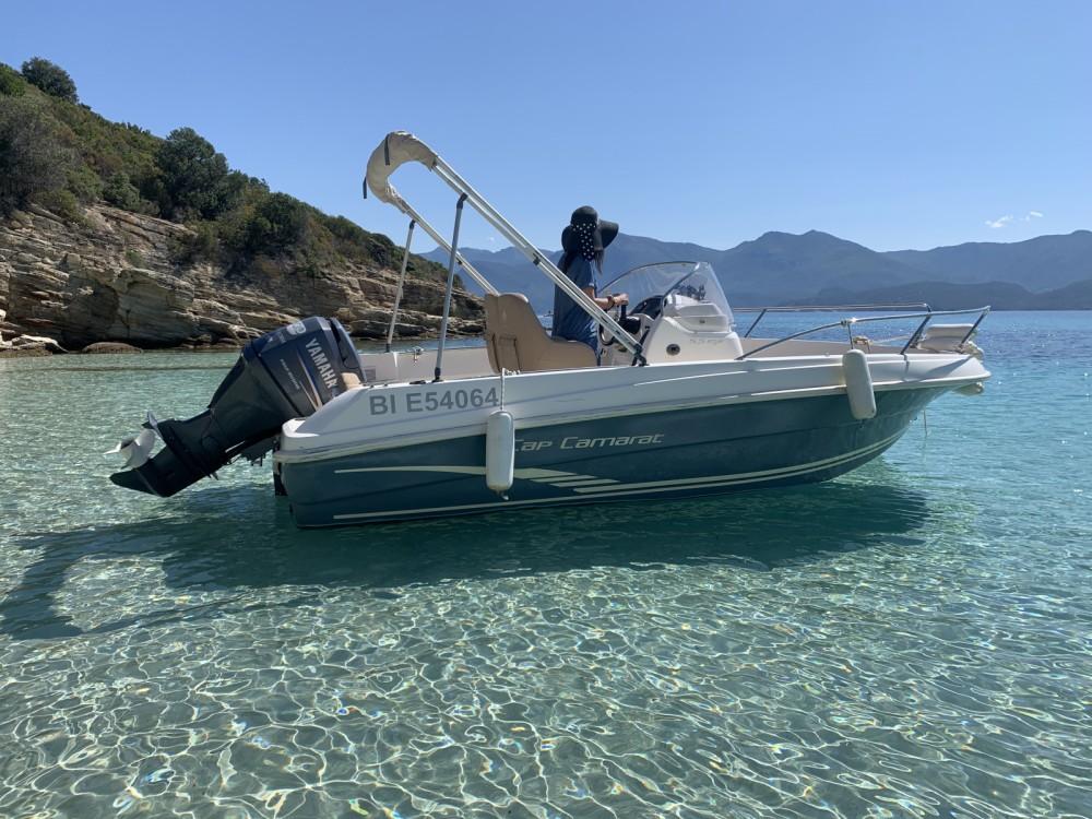 Rental yacht Saint-Florent - Jeanneau Cap Camarat 5.5 CC on SamBoat