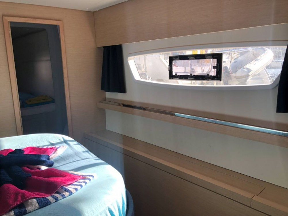 Fountaine Pajot Saona 47 between personal and professional US Virgin Islands