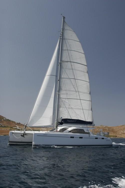 Rental yacht Laurium - NAUTITECH CATAMARANS Nautitech 47 on SamBoat