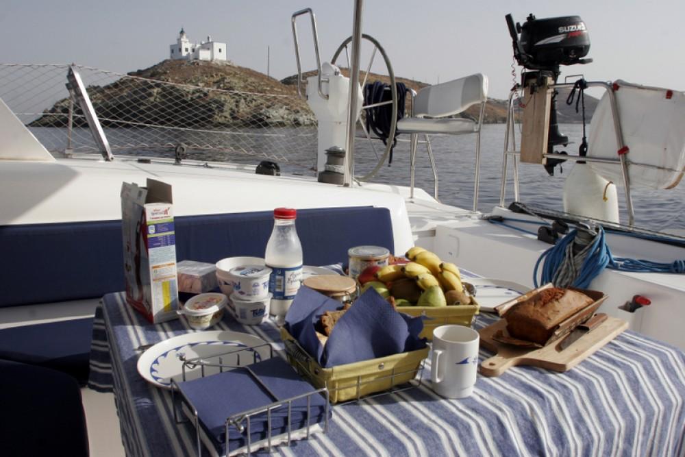Boat rental Laurium cheap Nautitech 47