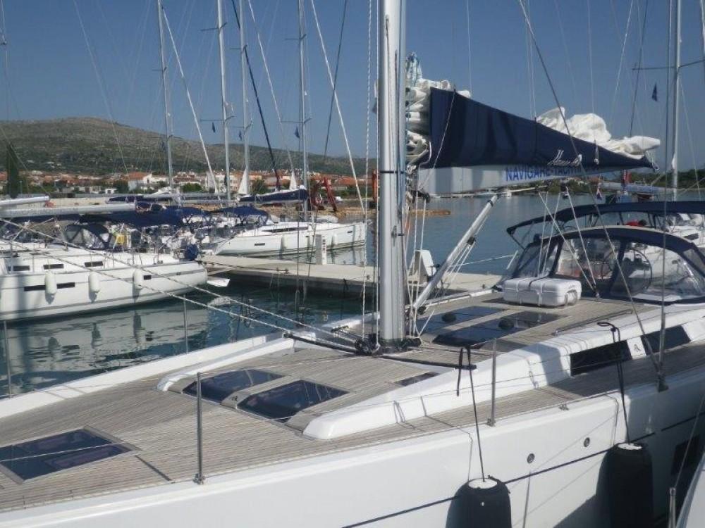 Boat rental Trogir cheap Hanse 575