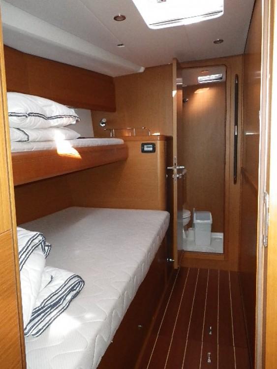 Boat rental Trogir cheap Jeanneau 57