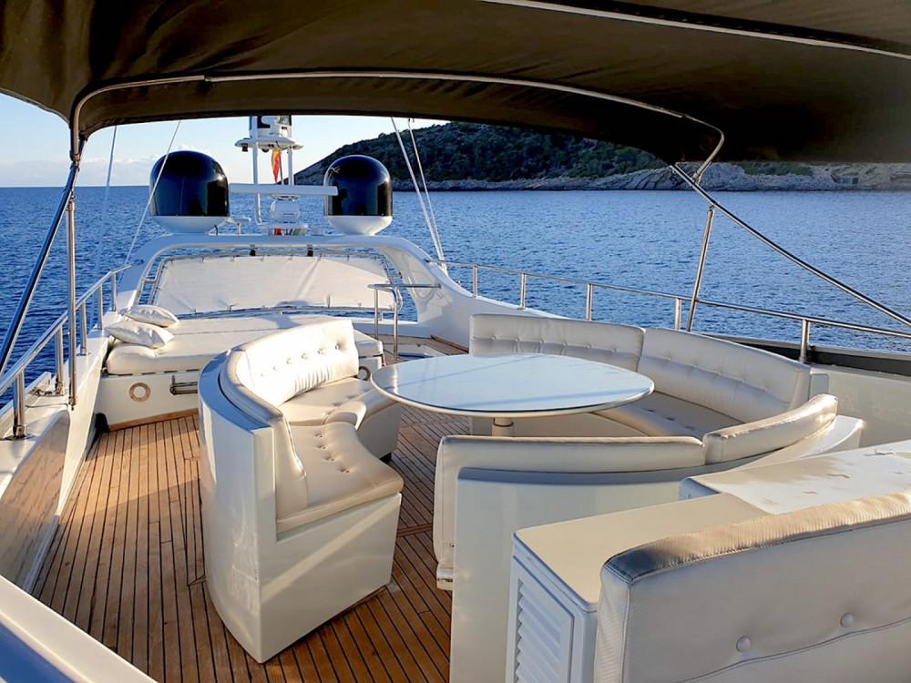 Boat rental Alicante cheap Baglietto 24