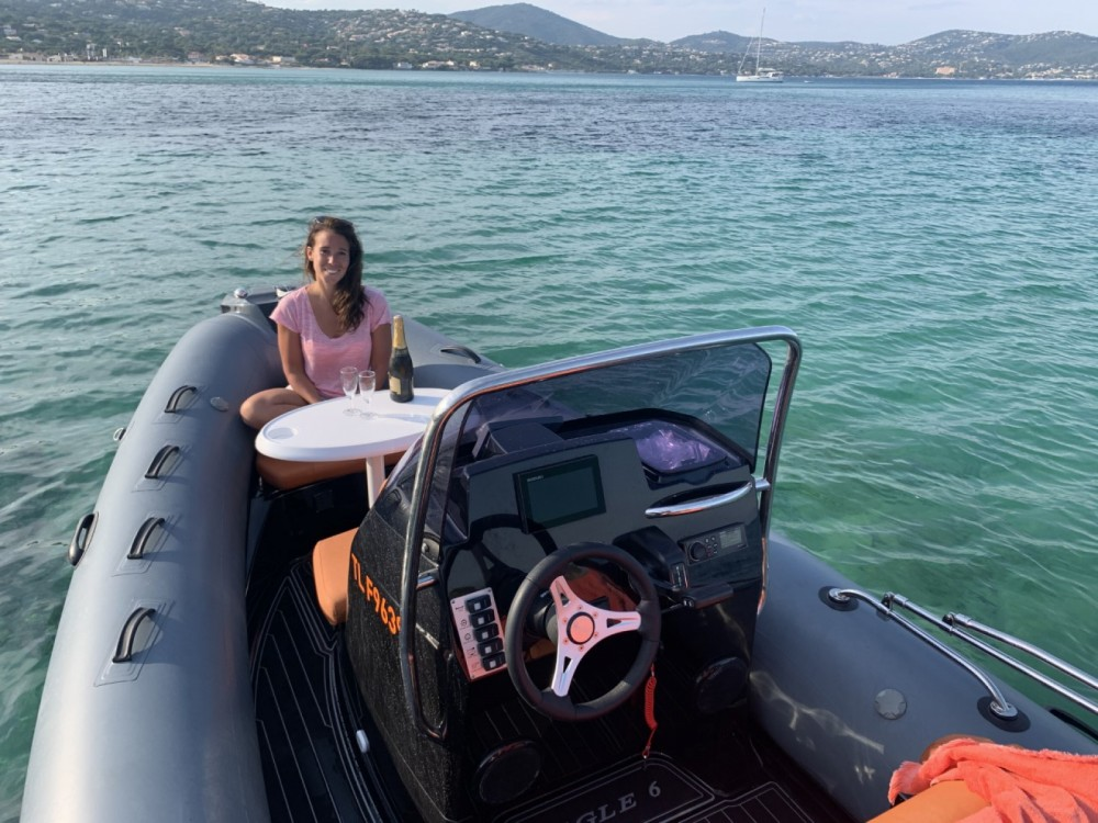 Hire RIB with or without skipper Brig Sainte-Maxime
