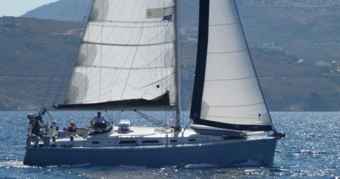 Rental Sailboat in Lávrio - Hanse Hanse 400e
