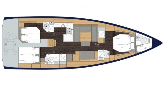 Rental yacht Lávrio - Bavaria Bavaria C50 Style on SamBoat
