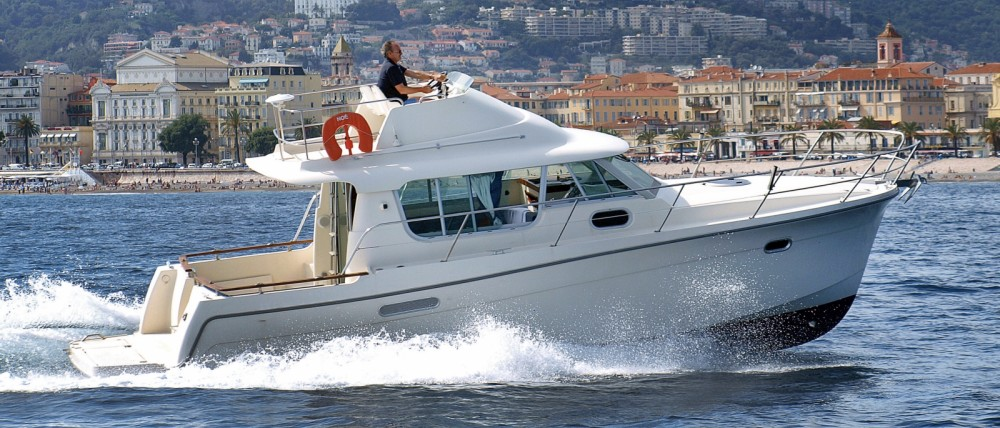 Hire Motorboat with or without skipper Ocqueteau Nice