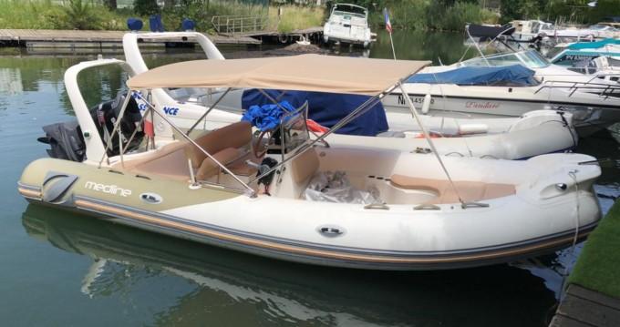 Boat rental Zodiac Medline II in Cannes on Samboat