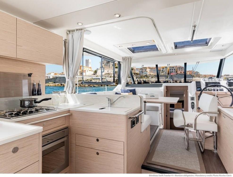 Boat rental Ajaccio cheap Swift Trawler 41