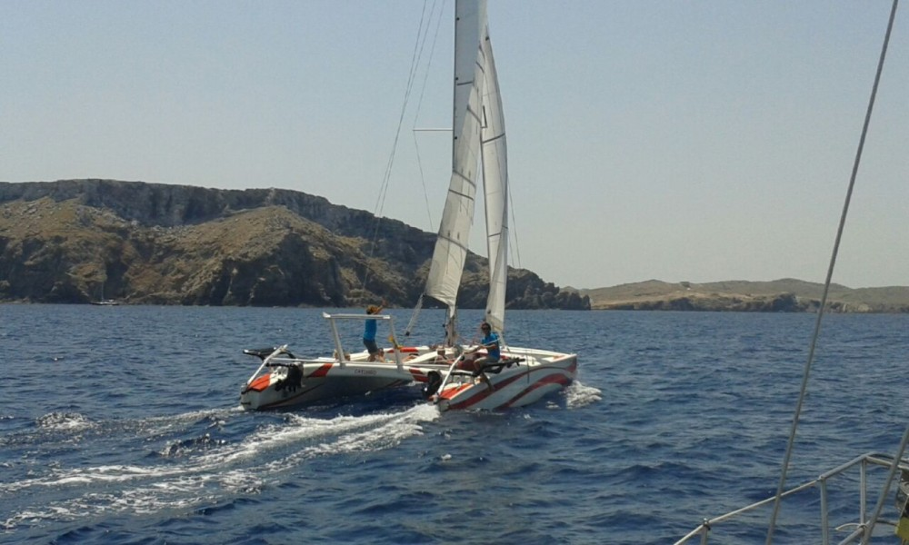 Rental Catamaran in es Mercadal - UKELELE UKELELE