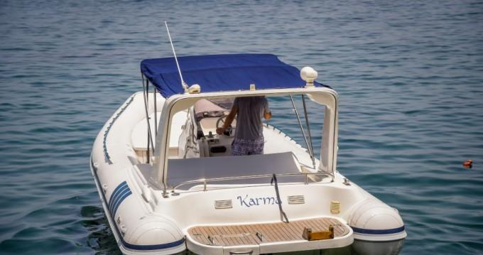 Rent a alson 7.50 fast dinghy Sorrento