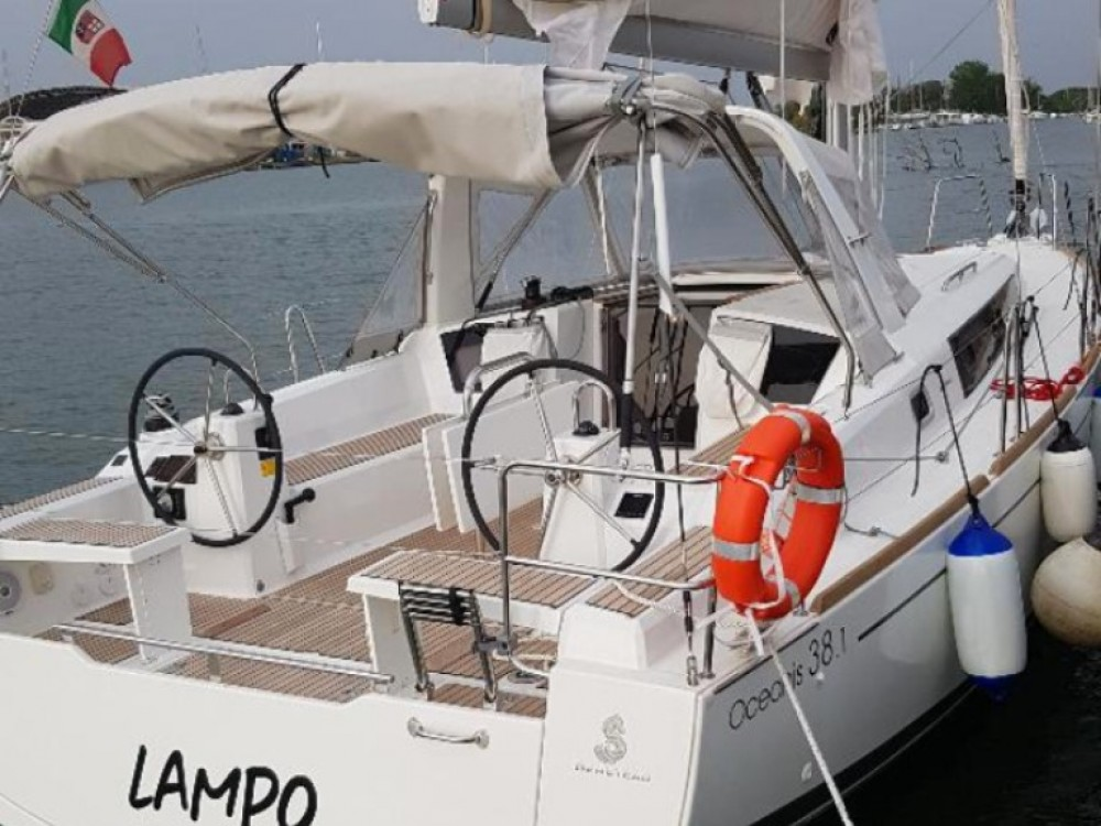 Boat rental Nettuno cheap Oceanis 381