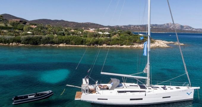 Boat rental Marina di Portisco cheap Dufour 56 Exclusive 2017