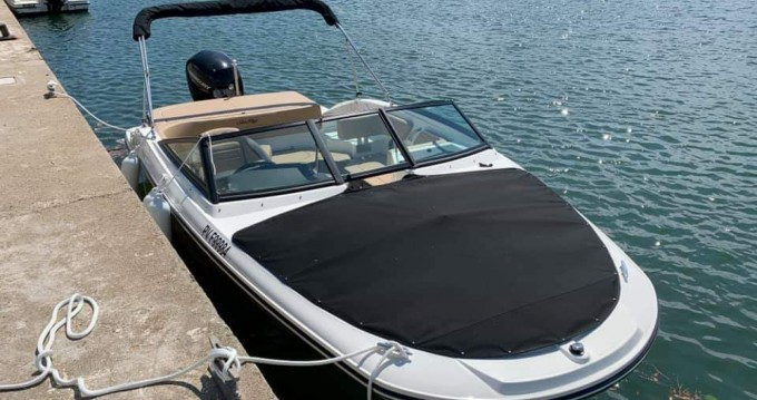 Hire Motorboat with or without skipper Sea Ray Le Barcarès