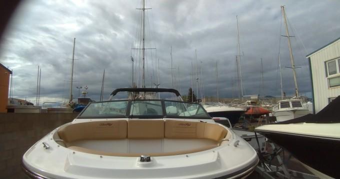 Boat rental Le Barcarès cheap Sea Ray 190 SPX OB