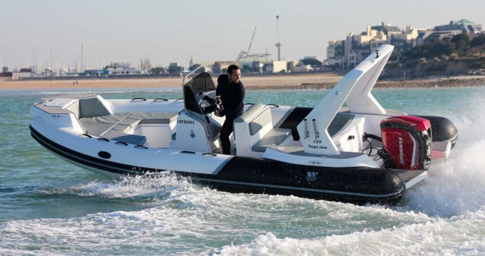 Hire RIB with or without skipper Tiger La Rochelle
