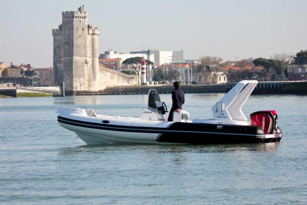 Boat rental La Rochelle cheap TOP LINE 650