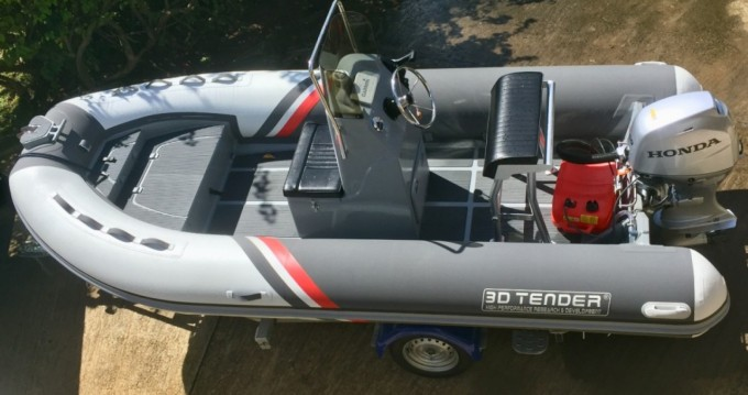 Hire RIB with or without skipper 3D Tender La Rochelle