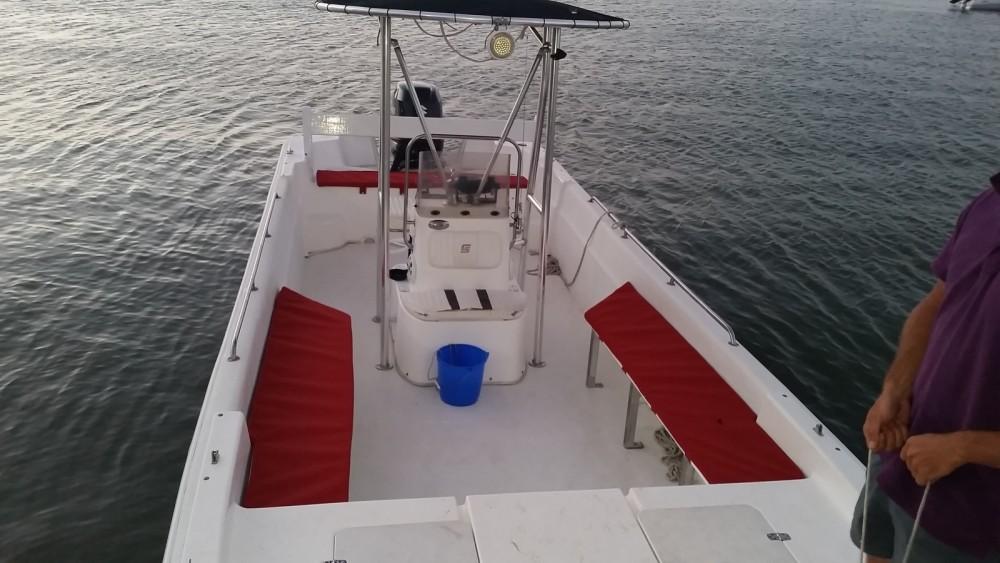 Rental Motorboat in Sainte-Rose - Carolina Skiff carolina skiff 239