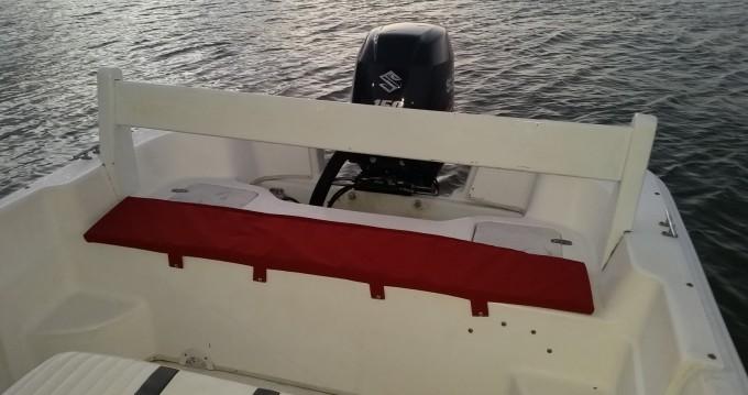 Boat rental Carolina Skiff carolina skiff 239 in Sainte-Rose on Samboat